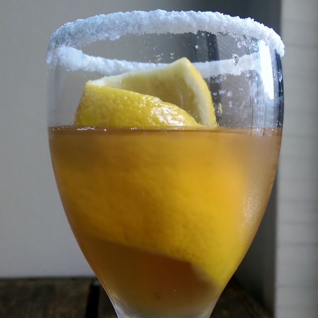 Whiskey Crusta - inspired by Jerry Thomas'  Bartenders Guide