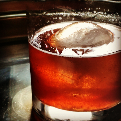 Blueberry Thyme Old Fashioned