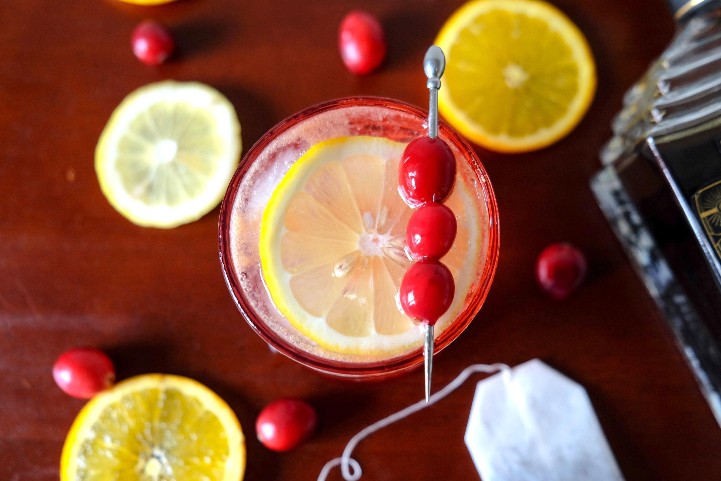 Manhattan Moonshine - Black Tea Punch by Nikki Davidson