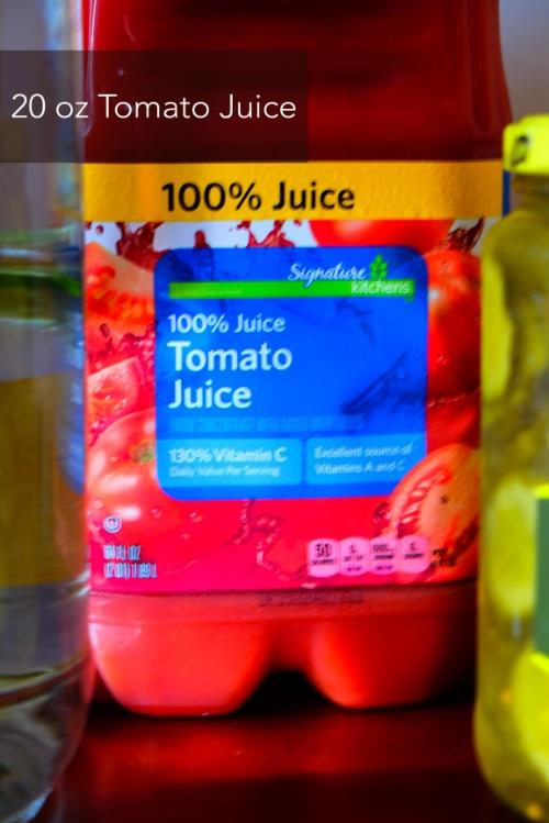 bloody mary - tomato juice