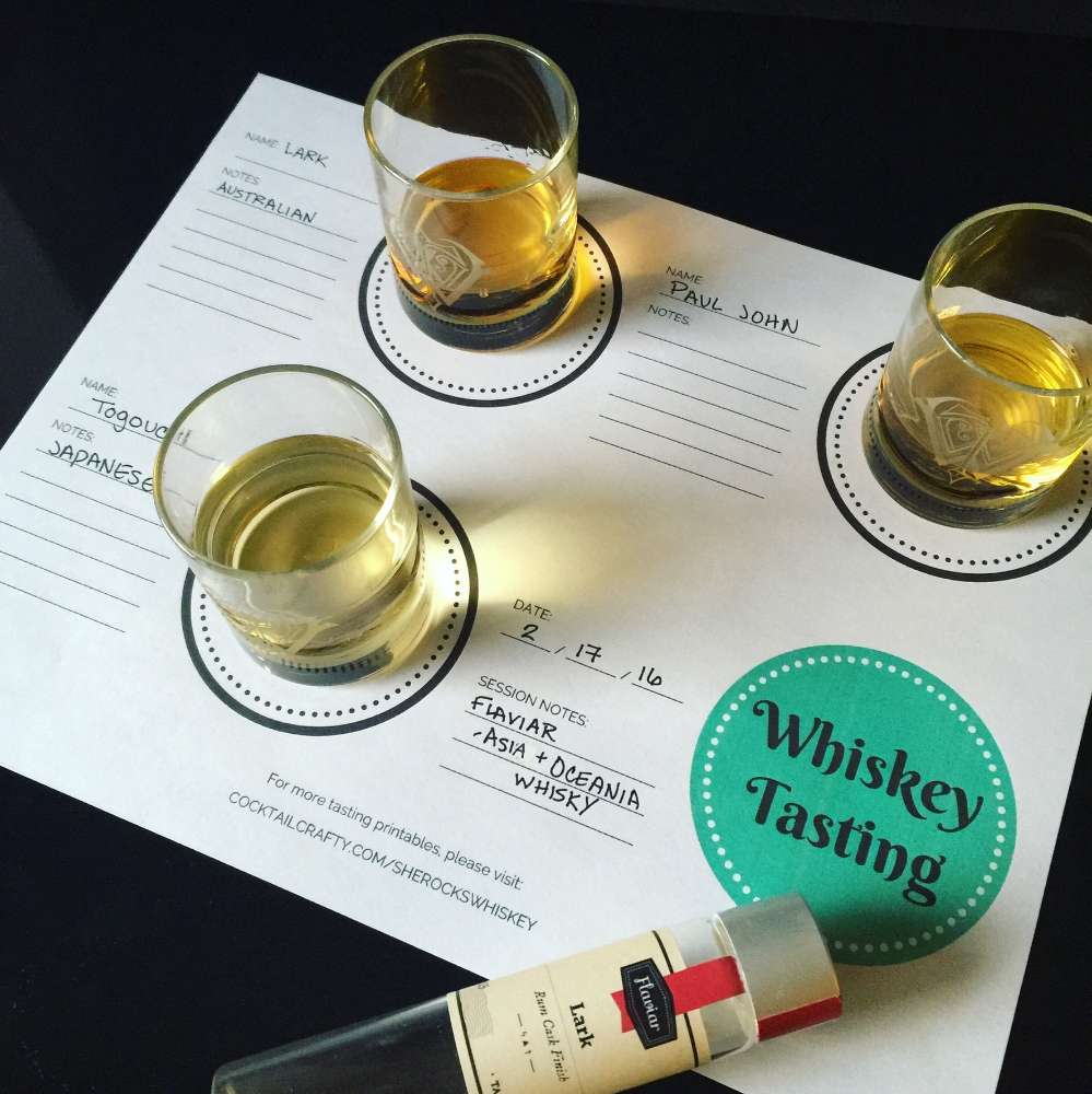 Home Whiskey Tasting