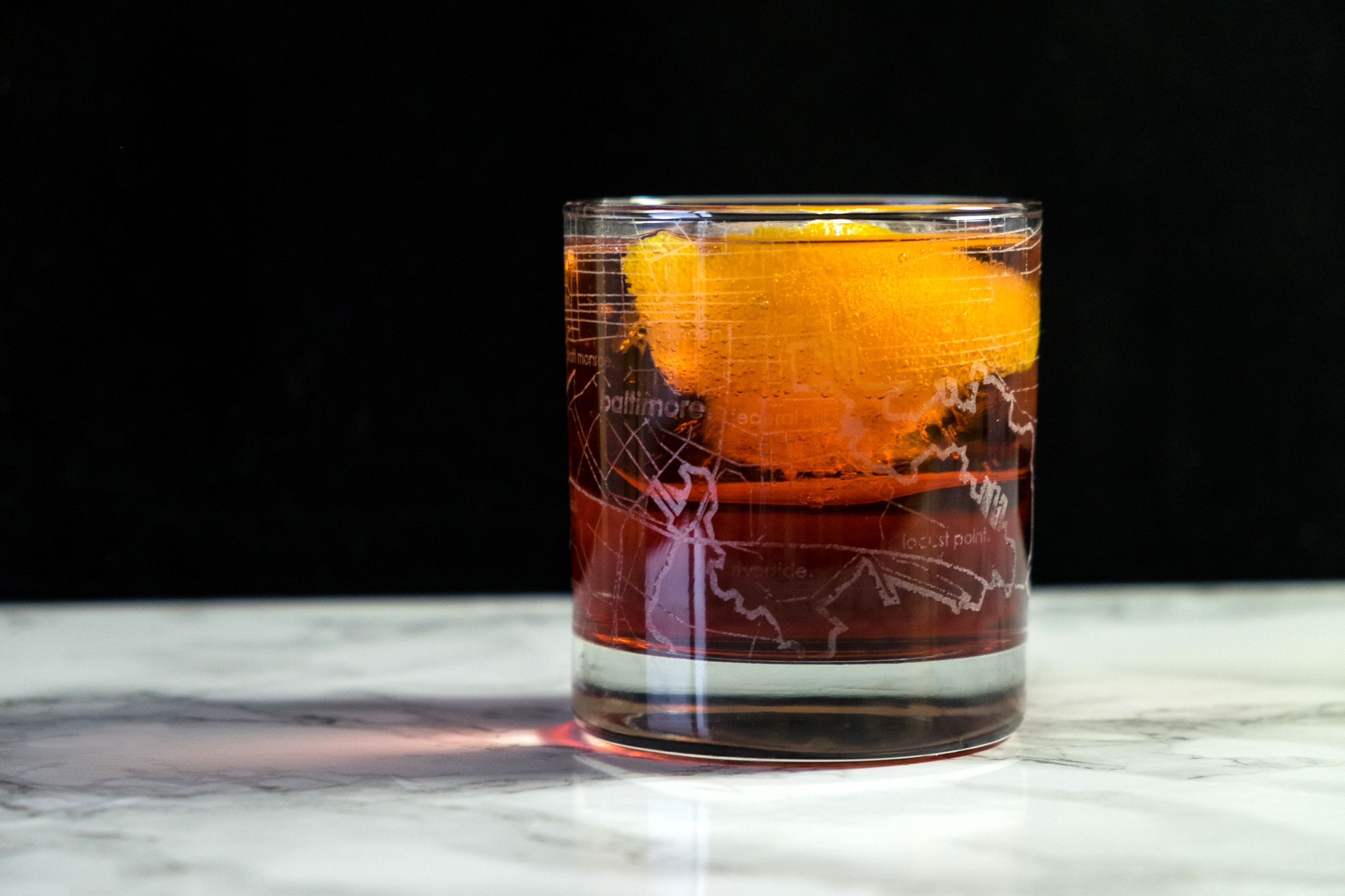 AMERICANO COCKTAIL; Glassware provided by  theUncommonGreen