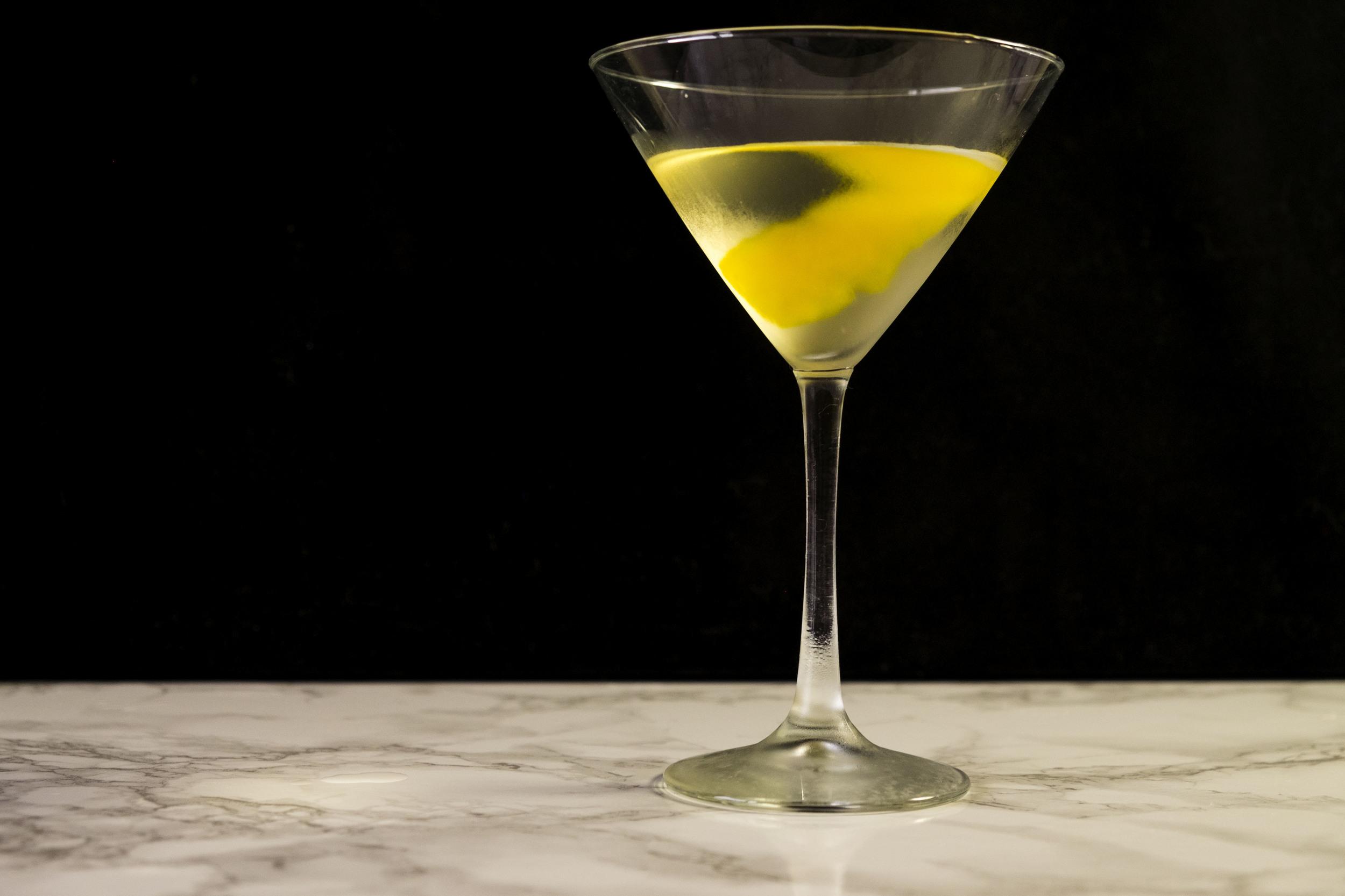Lemongrass Martini