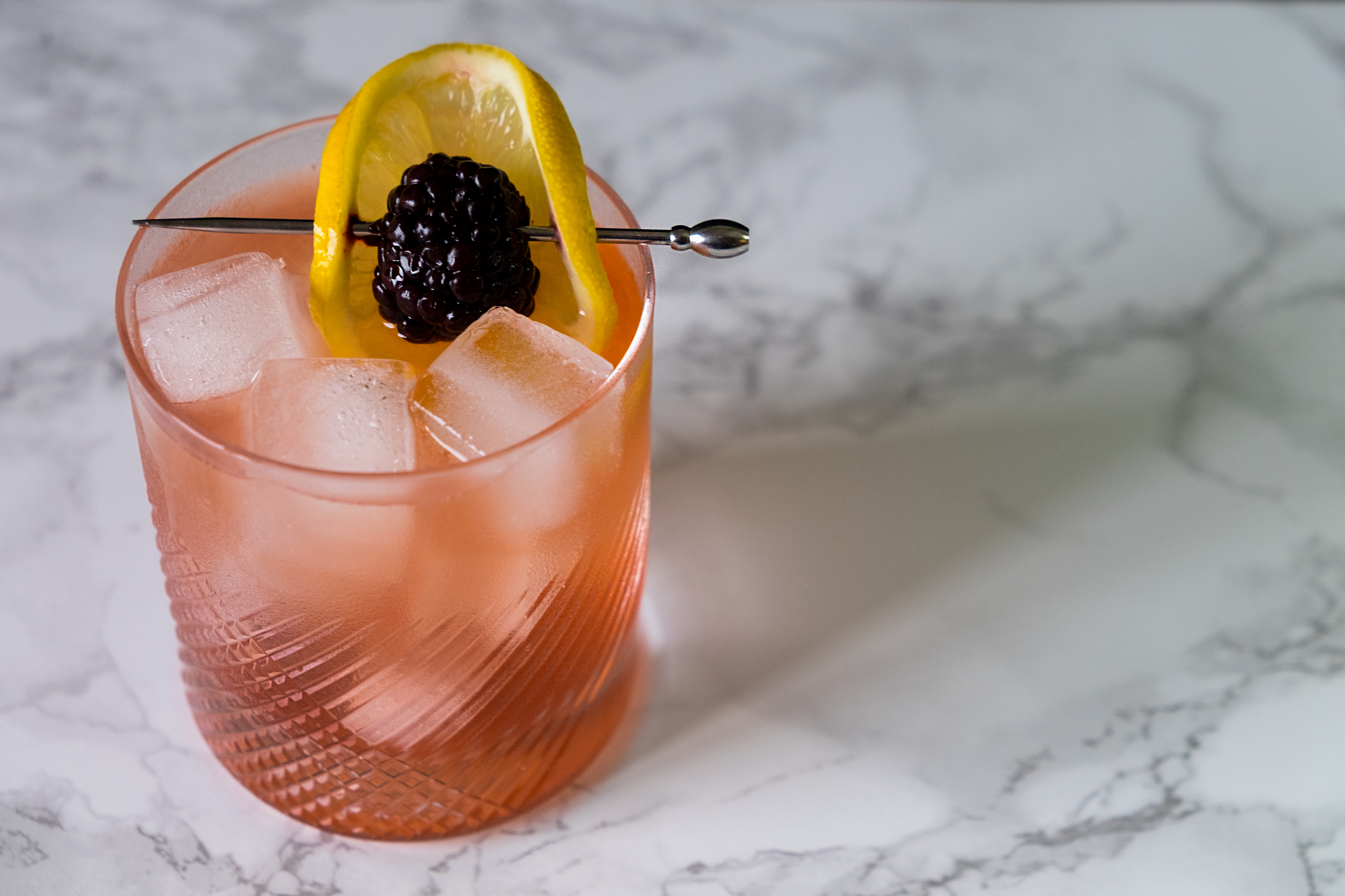 Bramble Cocktail - Glassware provided by  Rolf Glass