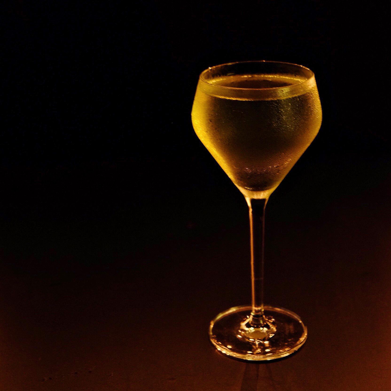 Xanthia Cocktail; Glassware from Sur La Table