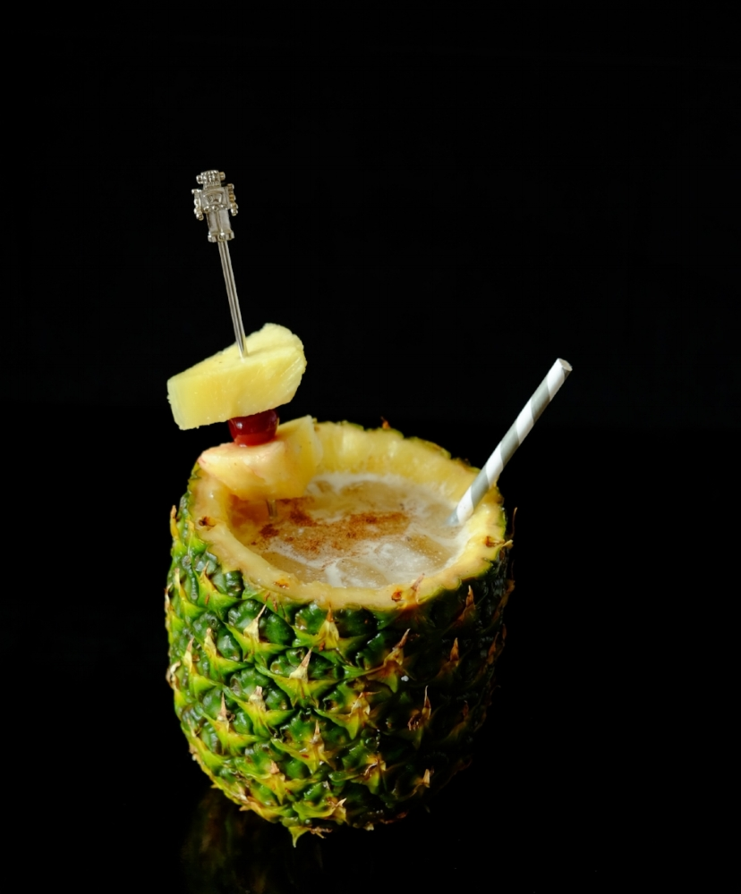 PAIN KILLER; Robot Swizzle Cocktail Stirrer from  Drynkware