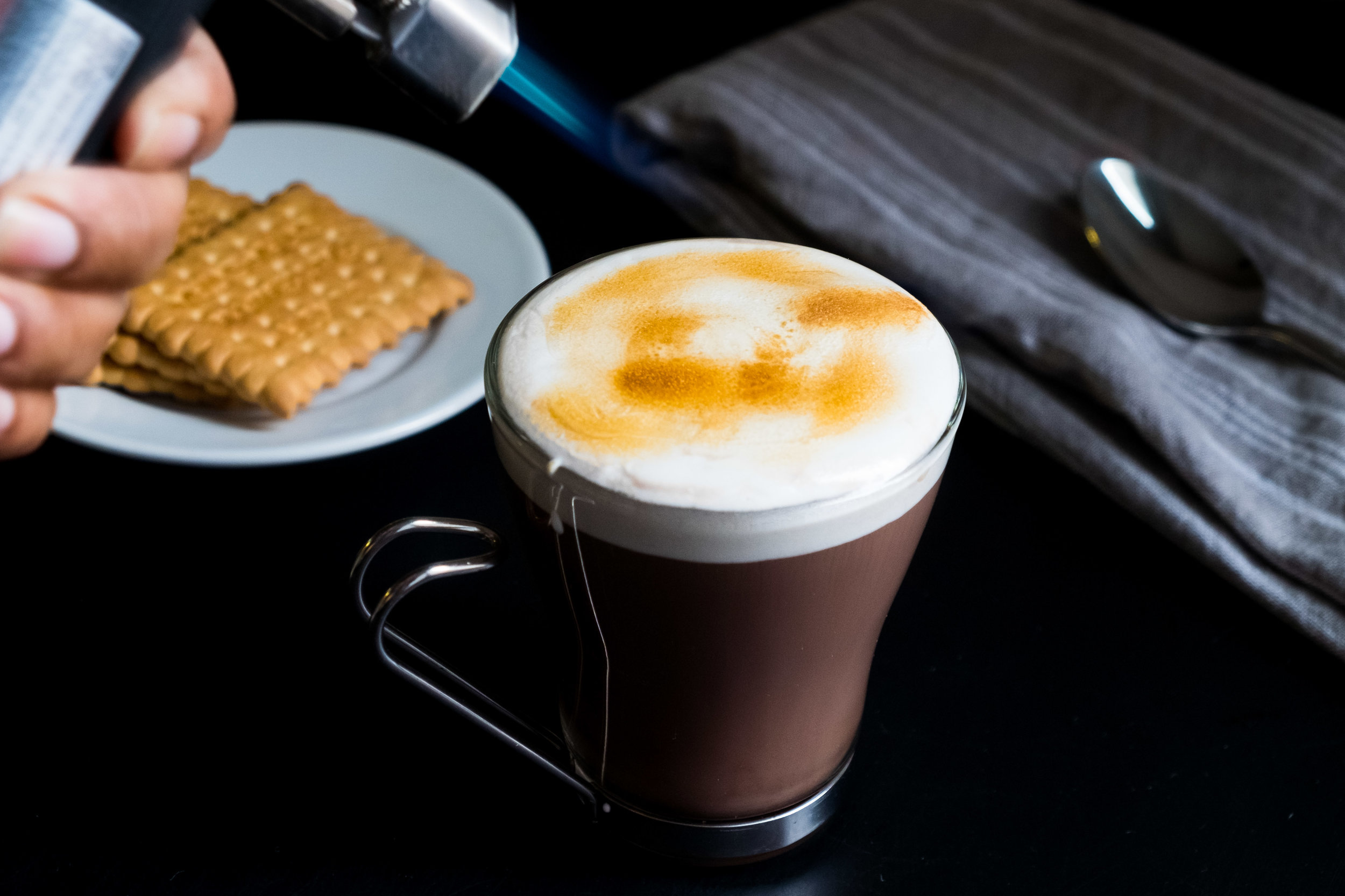 Hot Chocolate with Marshmallow Fluff