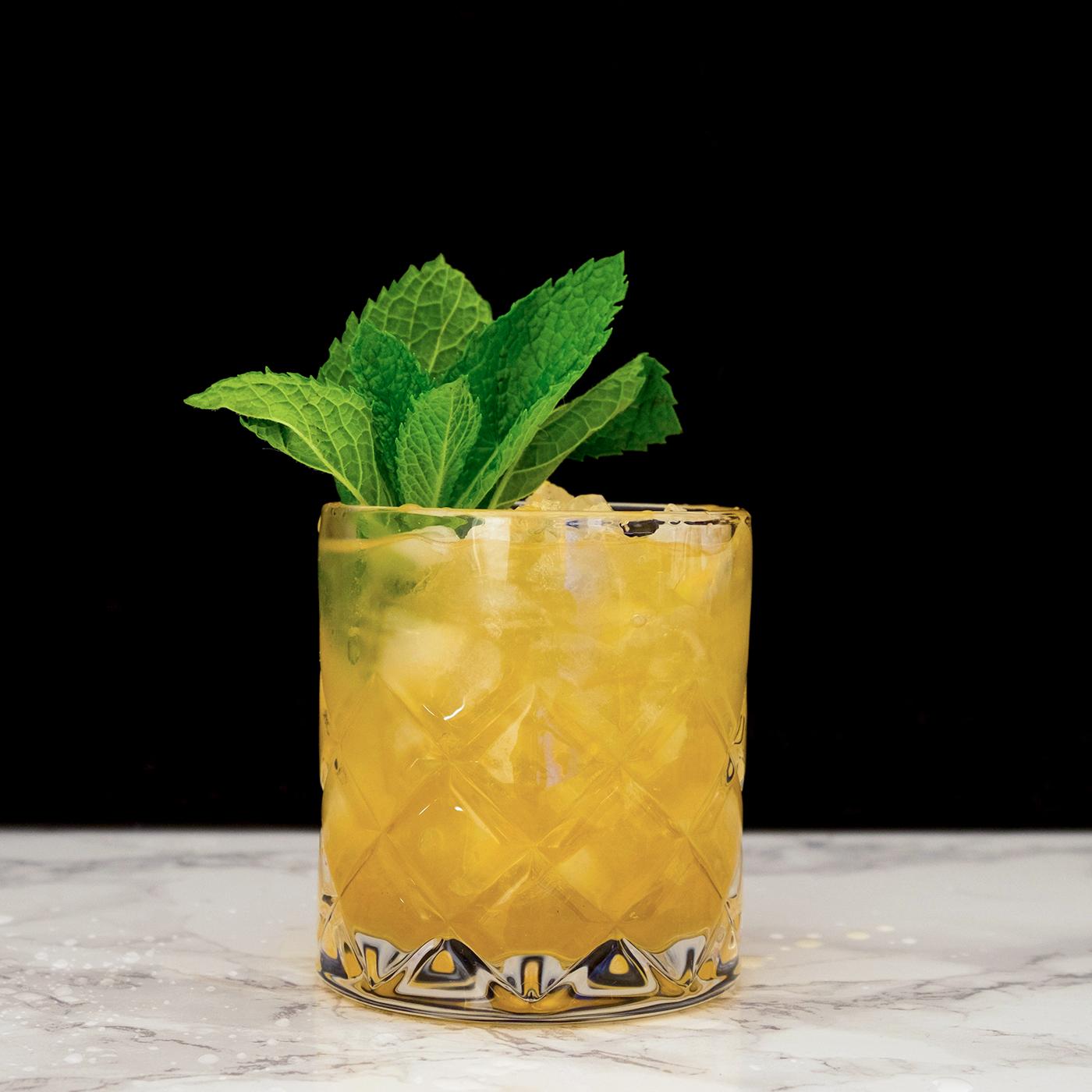 MAI TAI - Jamaican rum, lime juice, orange curacao, almond syrup