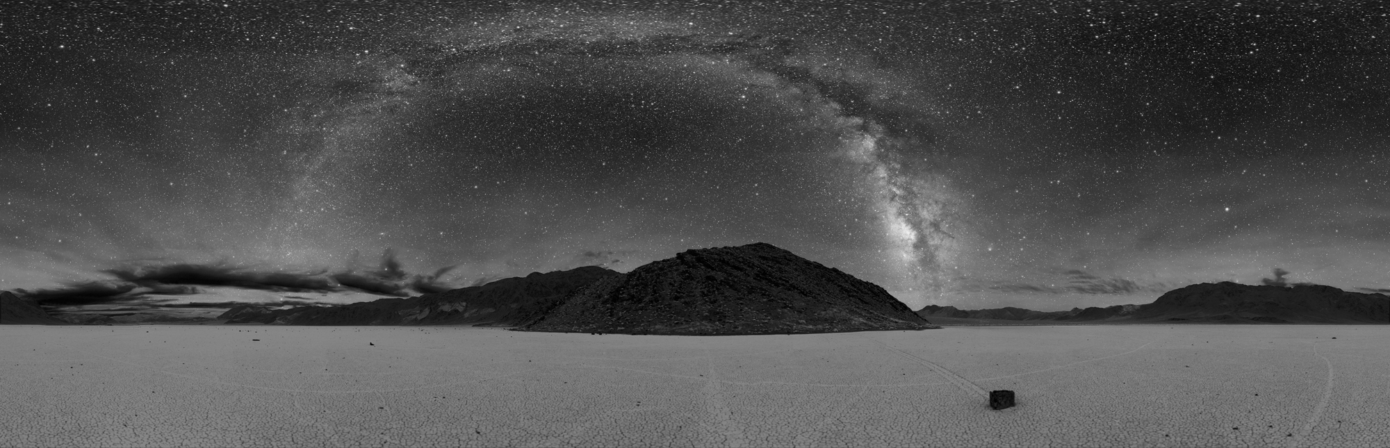 """Death Valley Sky, Racetrack Playa, California"" © 2005 Dan Duriscoe"