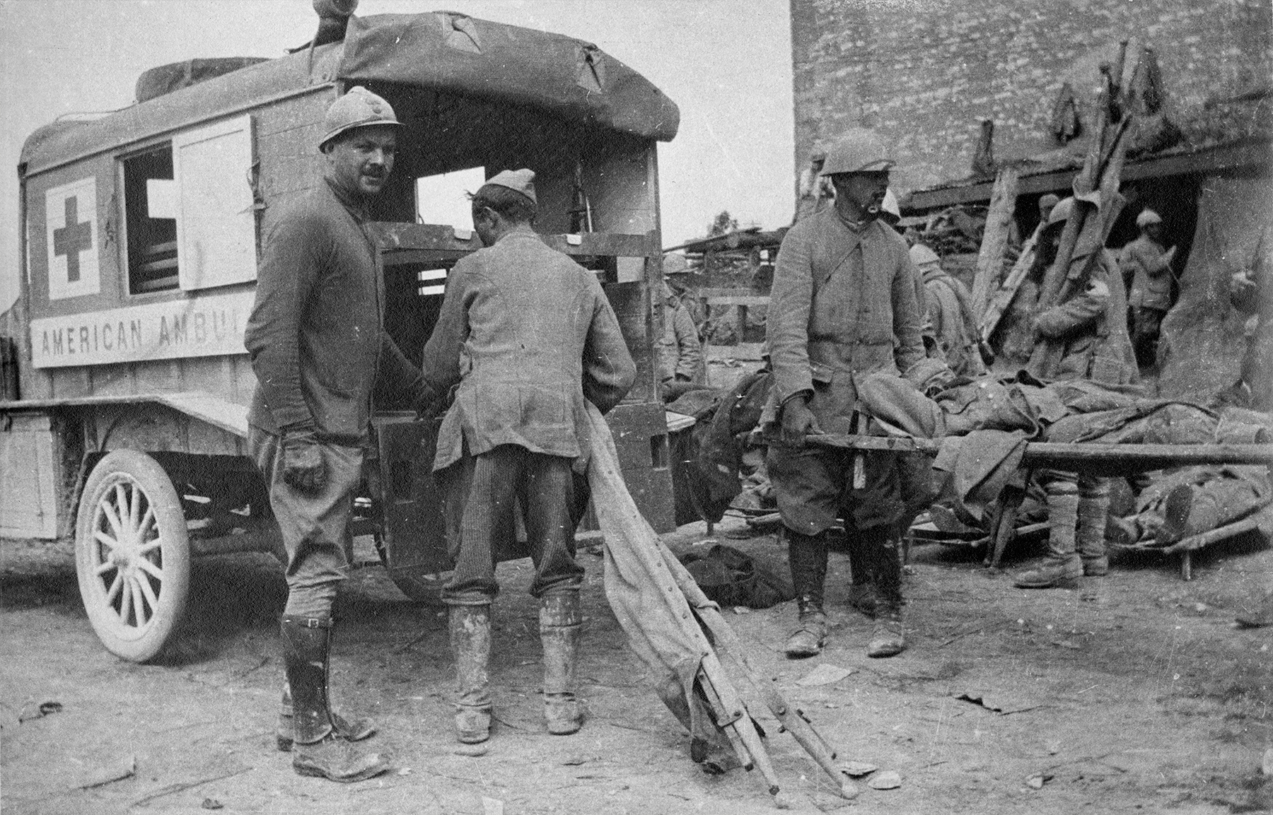 Topic 1|   U.S. American Volunteers in World War I, 1914-1917