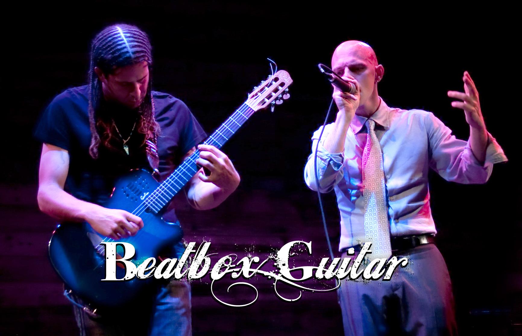 Beatbox Guitar - @ Galapagos w/ logo