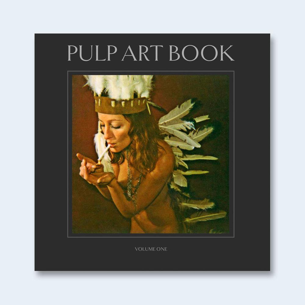 HARBECK & KRUG: PULP ART BOOK   Pulp Art Book: Volume One $50.00