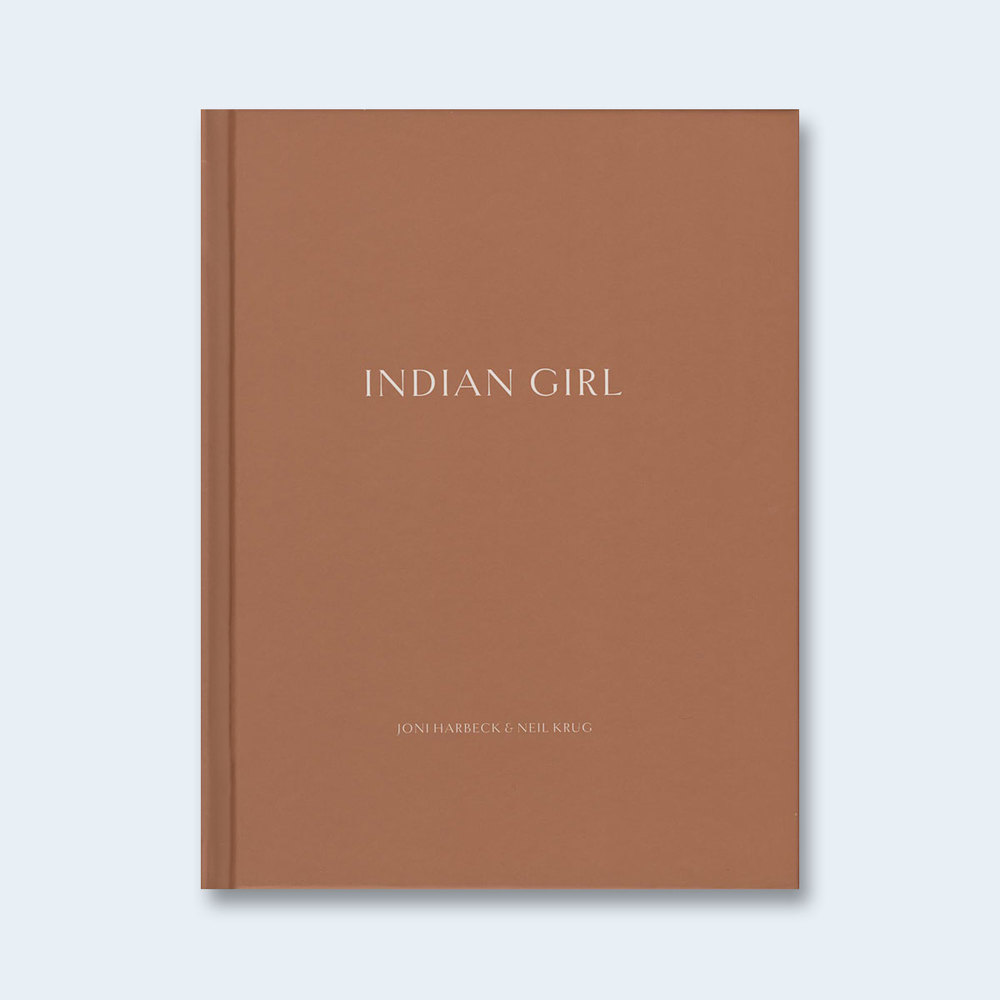 HARBECK & KRUG: PULP ART BOOK   One Picture Book #70: Indian Girl $50.00