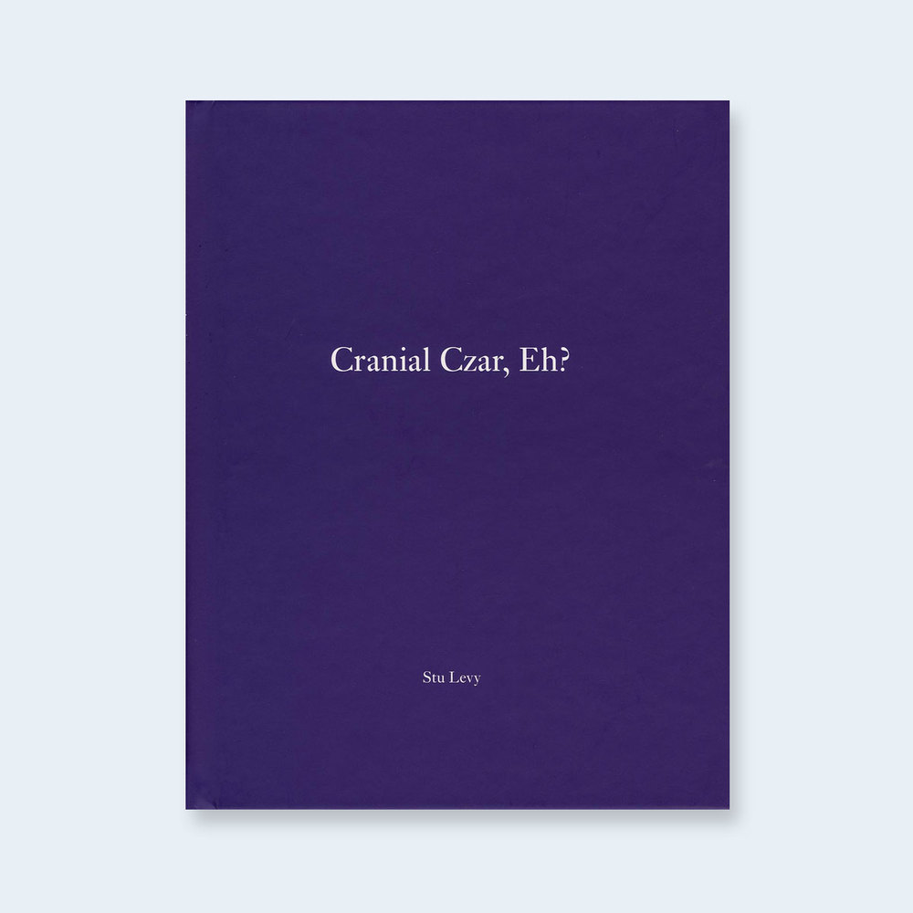 STU LEVY | One Picture Book #30: Cranial Czar, Eh? $150.00
