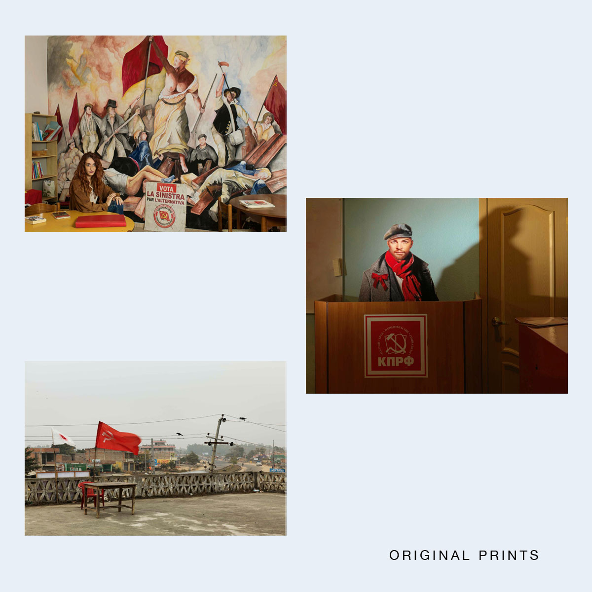 NOW SHIPPING  JAN BANNING  |   Red Utopia Special Edition  |  Order >