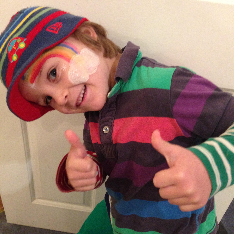 Jesse - age 5 - Elizabeth's Footprints Children's Intensive Care Unit