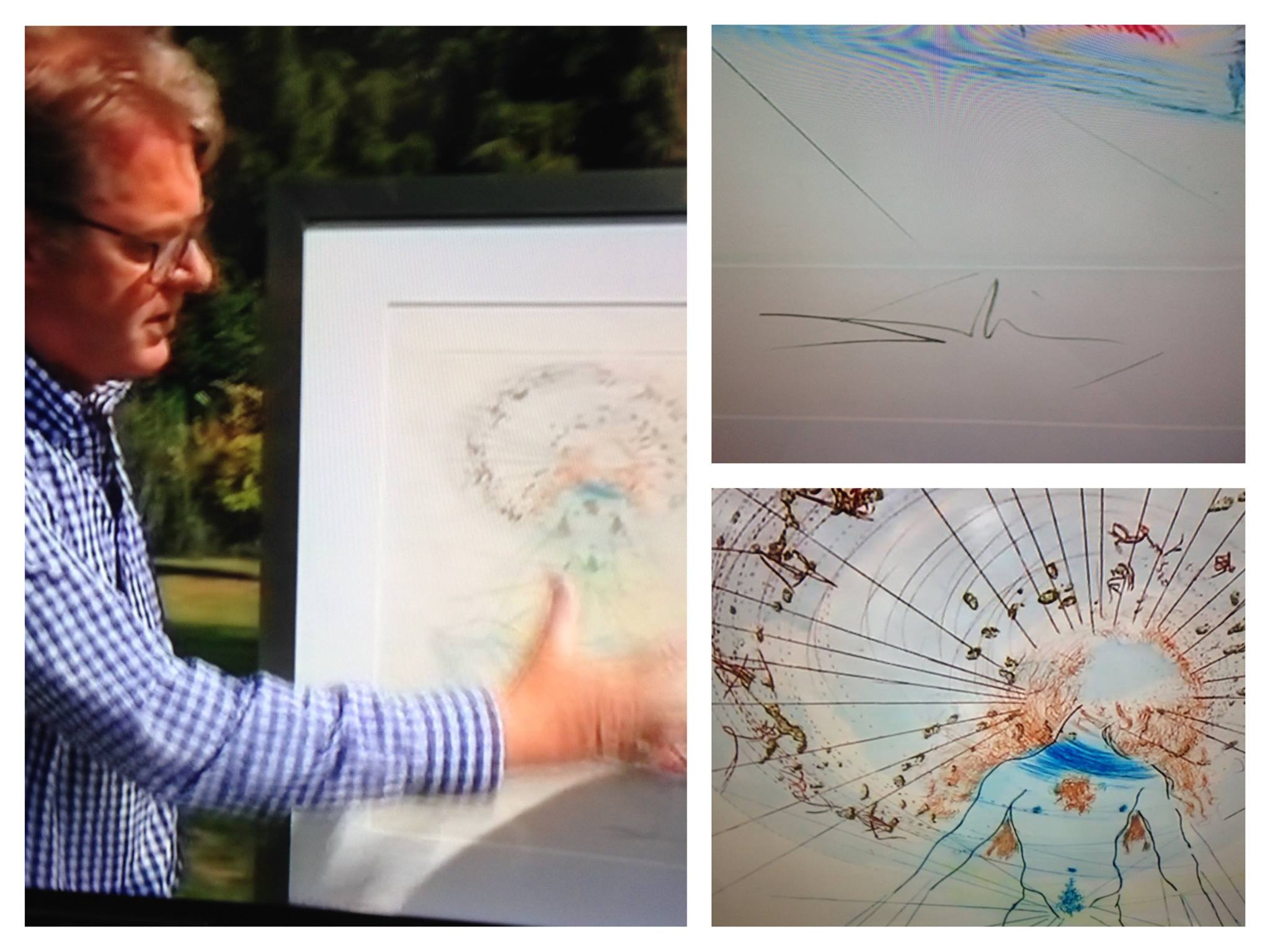 WOW! English antiques expert and television presenter Jonty Hearnden, is selling a stunning Salvador Dali, aptly named 'The Voice of my Beloved' to raise funds for his chosen Charity - Blue Skye Thinking!!! Good luck this week Jonty, as you compete to make the most profit on BBC's 'Put Your Money Where Your Mouth Is' - BBC One. £1754.59 was raised thanks to the genrerosity of local businesses and art enthusiasts.