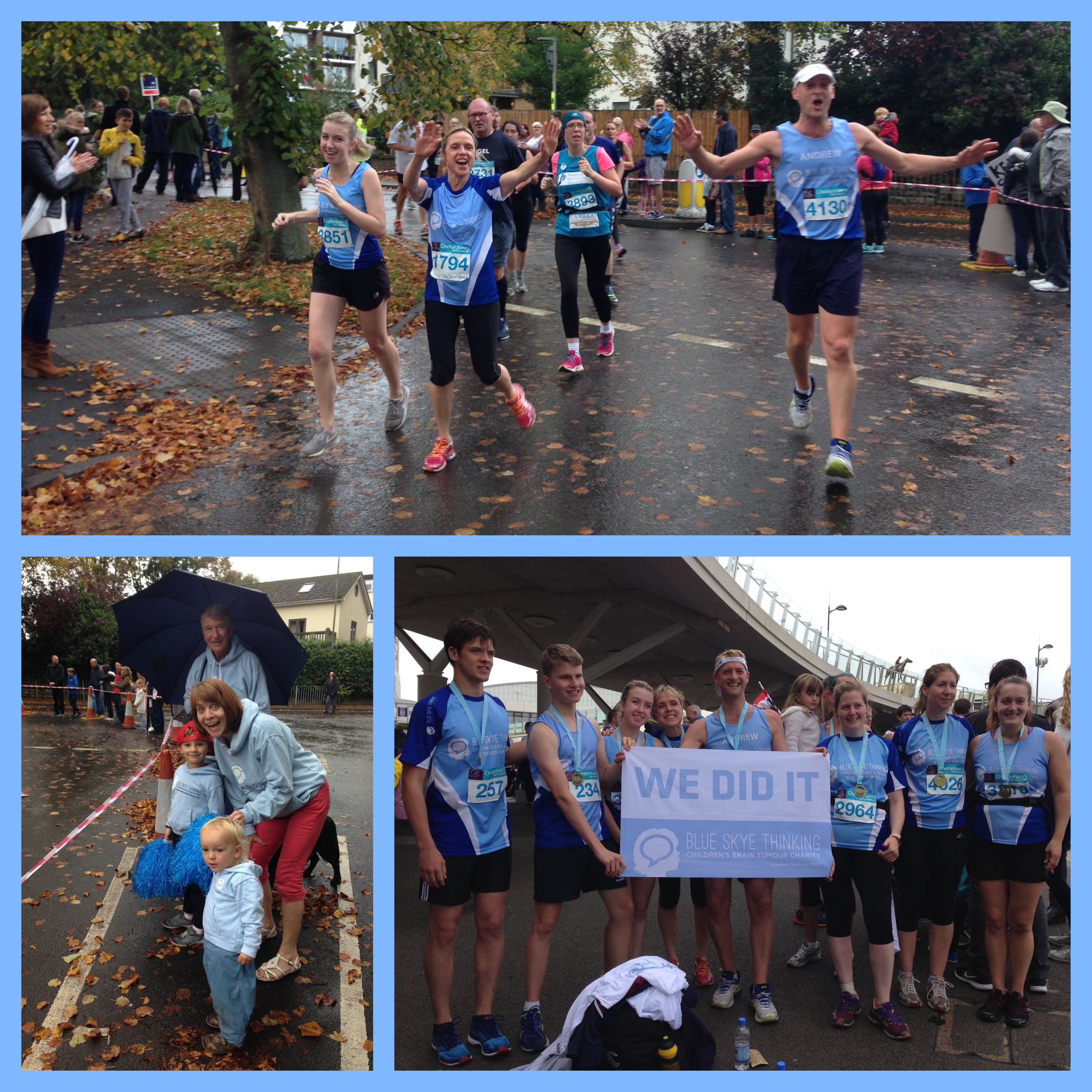 Thanks to staff and parents of Dean Close School and St James C of E Primary for running in this year's Cheltenham Half Marathon! Despite the drizzle, you were all so 'up beat' and so you should be because together, you raised almost £2k  https://www.justgiving.com/companyteams/DCSCheltHalf2017