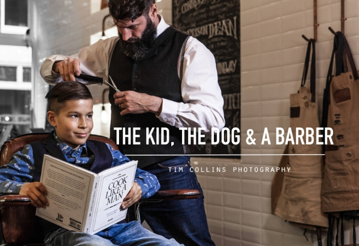 The Kid, the Dog & the Barber