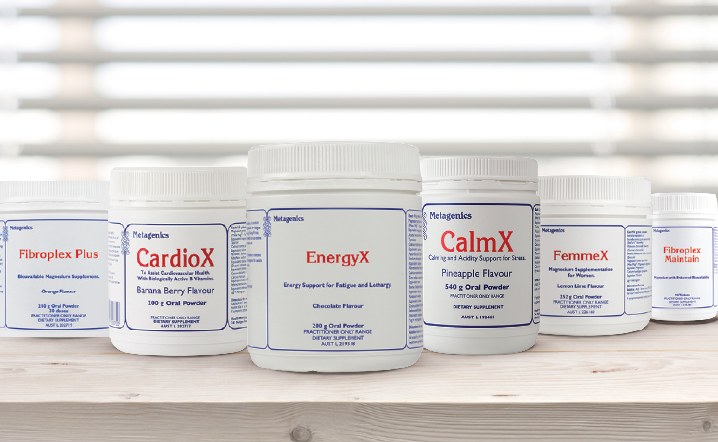 clinic38 metagenics product range