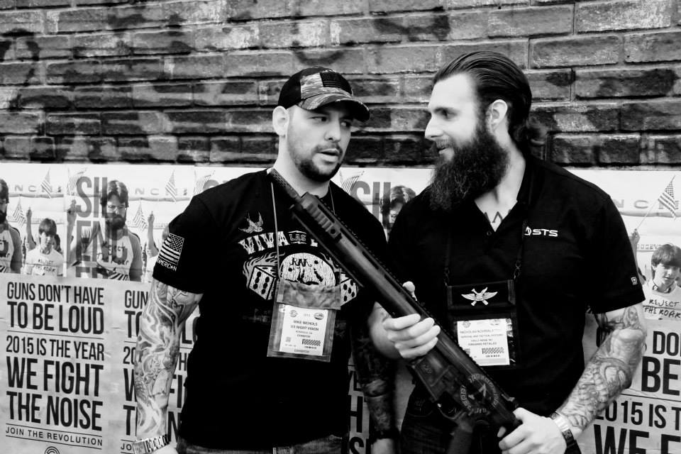 STS meeting up with  Mike Nichols and  APEX Armor  and US Nightvision