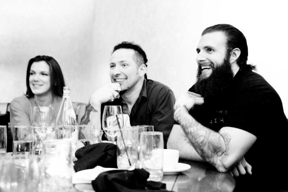 STS grabbing dinner and drinks with  Zoltan  from  Five Finger Death Punch .