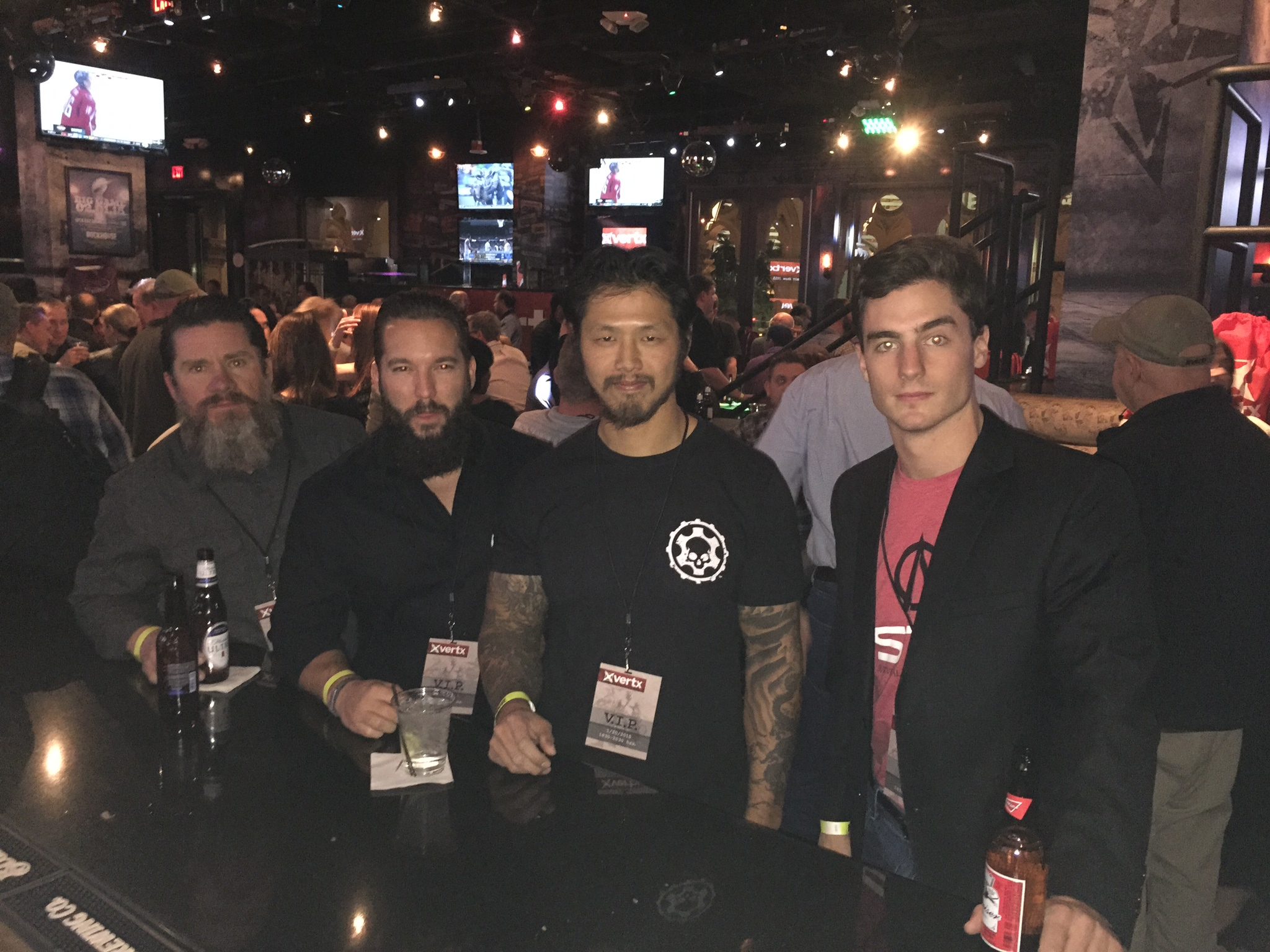 STS and  SF Armory  hit the  Vertx  VIP After Party.