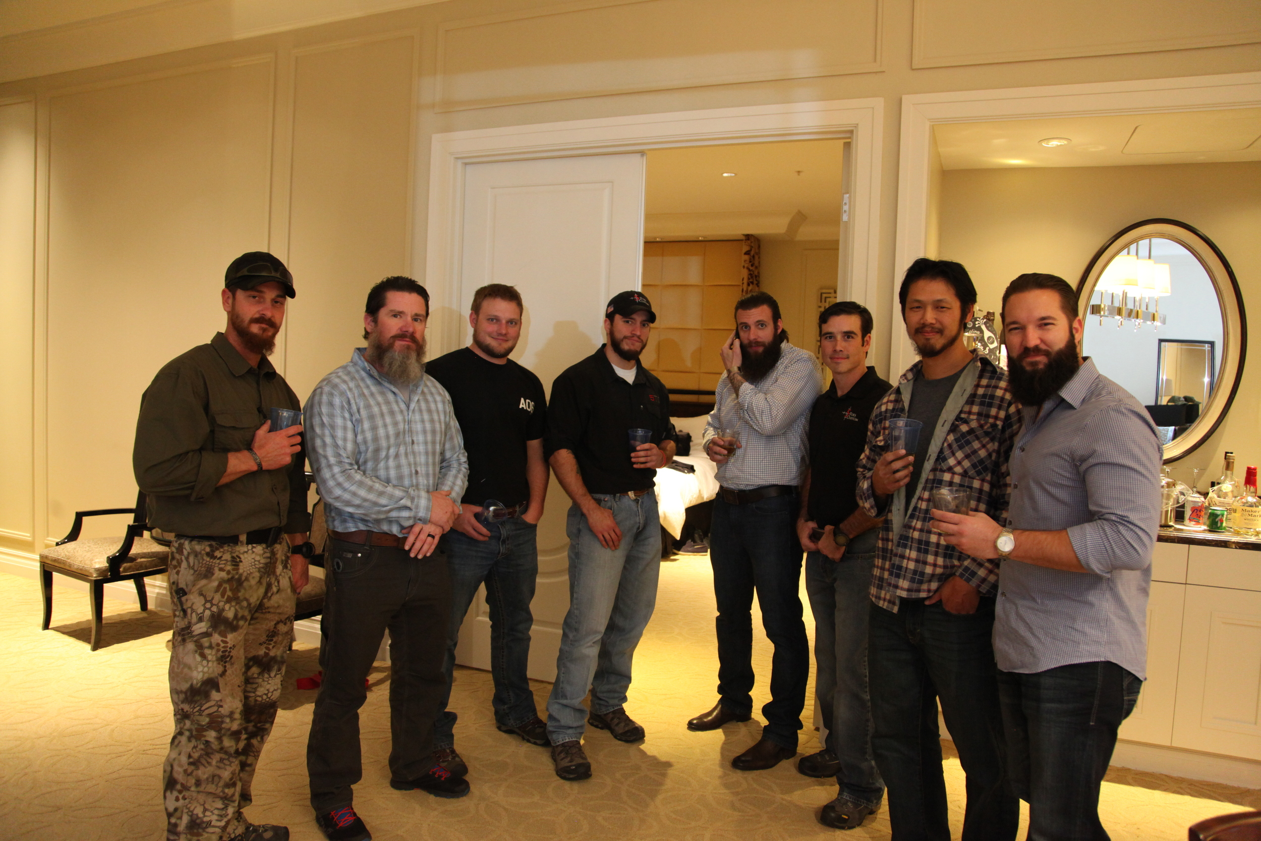 STS Suite get together with  5 Toes Custom ,  SF Armory   Texas Elite Tactical Academy , and  Instructor ONE.