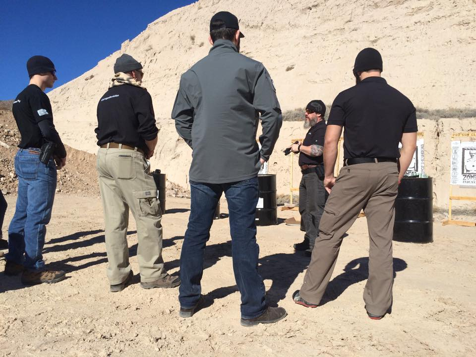 Starting off the day with a safety brief by Instructor ONE at  Pro Gun Club Las Vegas.