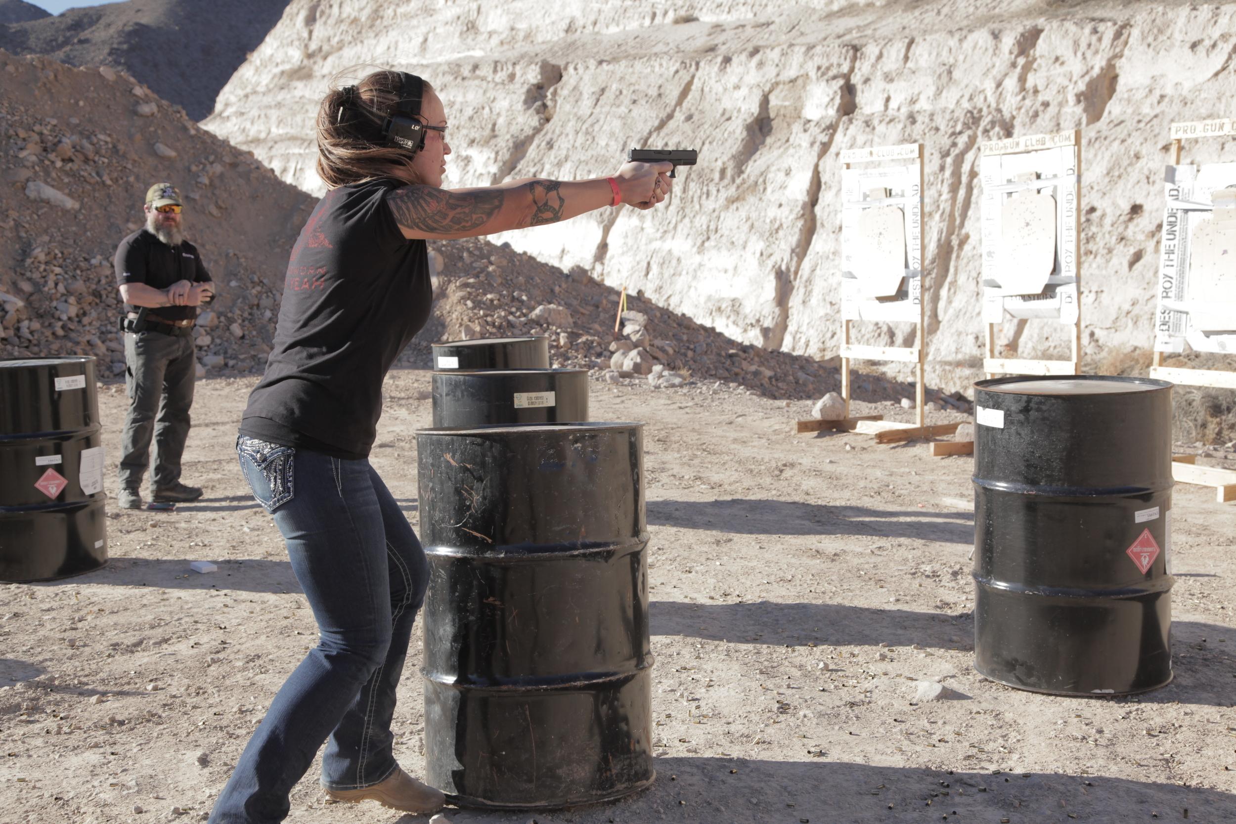 Las Vegas,  Tactical Pistol Course
