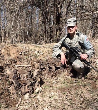 Britt's last deployment, Kyrgyzstan- Dec13 to May14