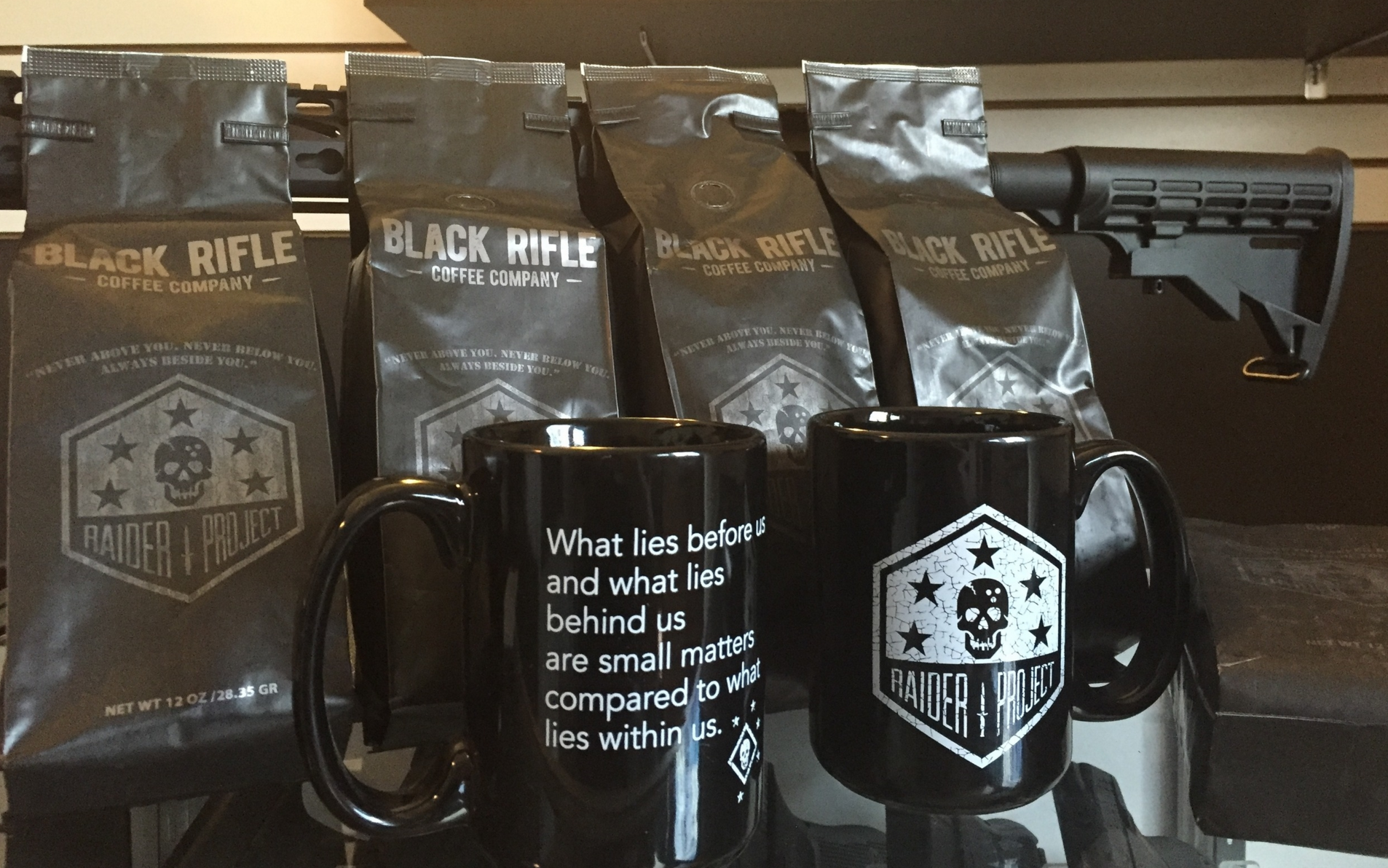 Black Rifle Raider Project GFC and Mug Set