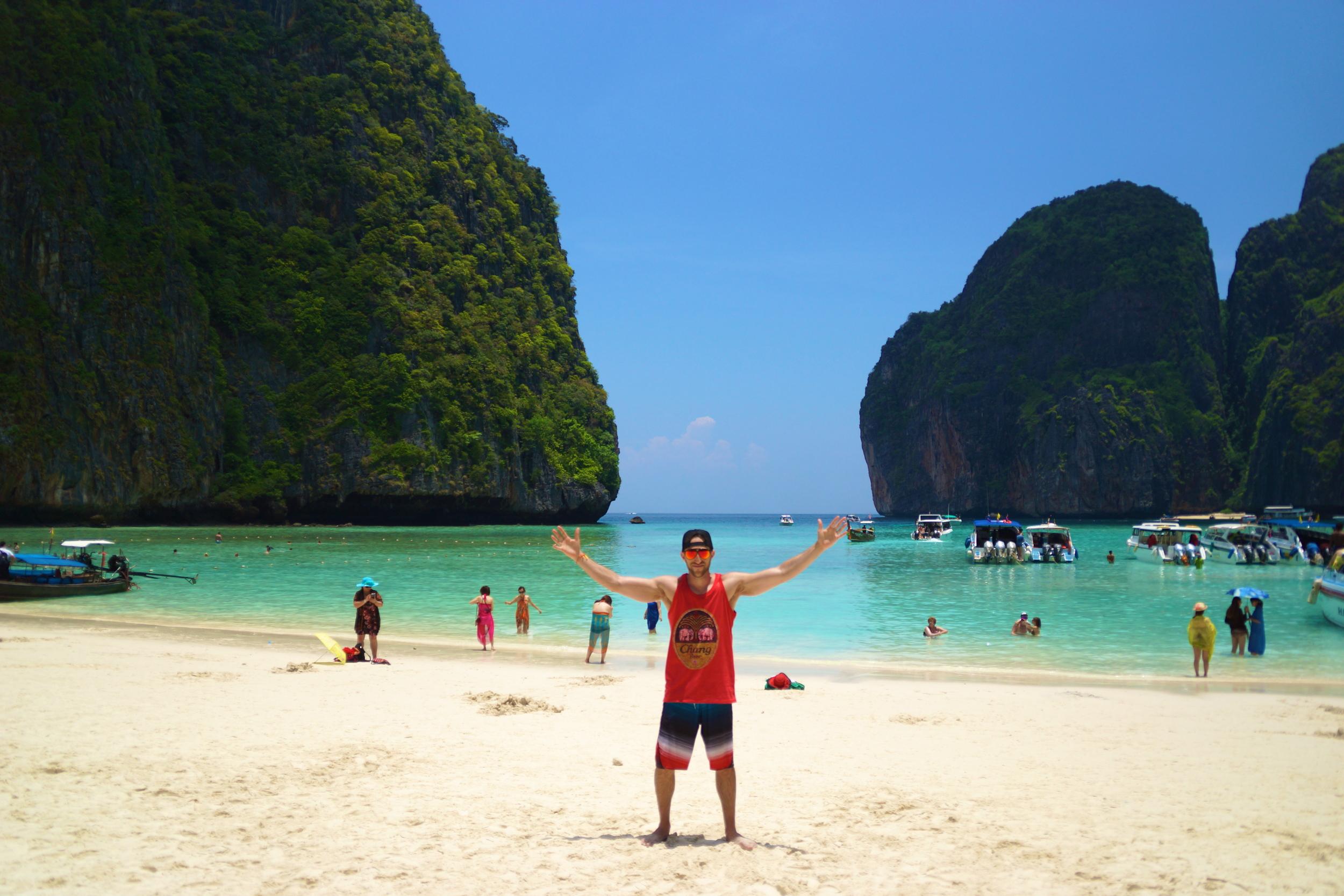 me at da beach