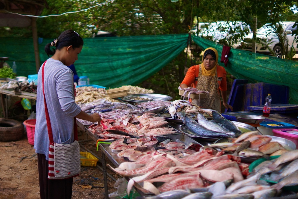 Very fresh fish.