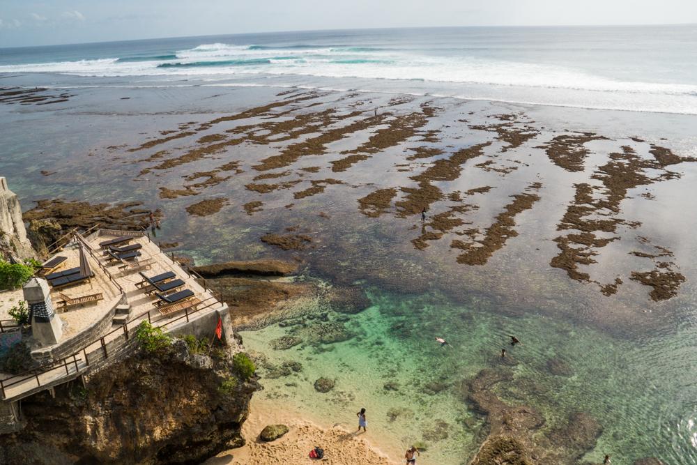 Uluwatu Beach.