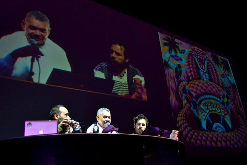 WILLIAM GUTIERREZ EN TRIMARCHI  Presentación de uno de los más grandes exponentes de la pintura picotera del caribe colombiano en uno de los festivales de diseño más grandes de América Latina
