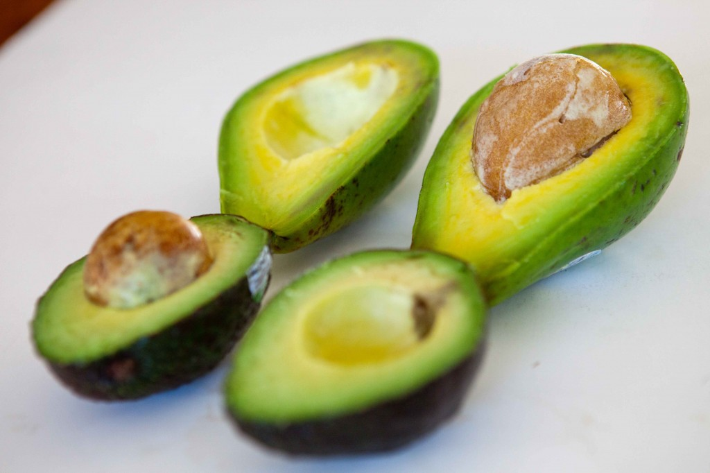 Teacher-chef.com shows us the two most common types of avocados in the US and discusses differences. Click for source.