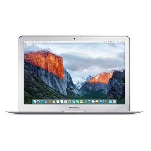 """13"""" Macbook Air with 8GB RAM and 256GB SSD storage."""