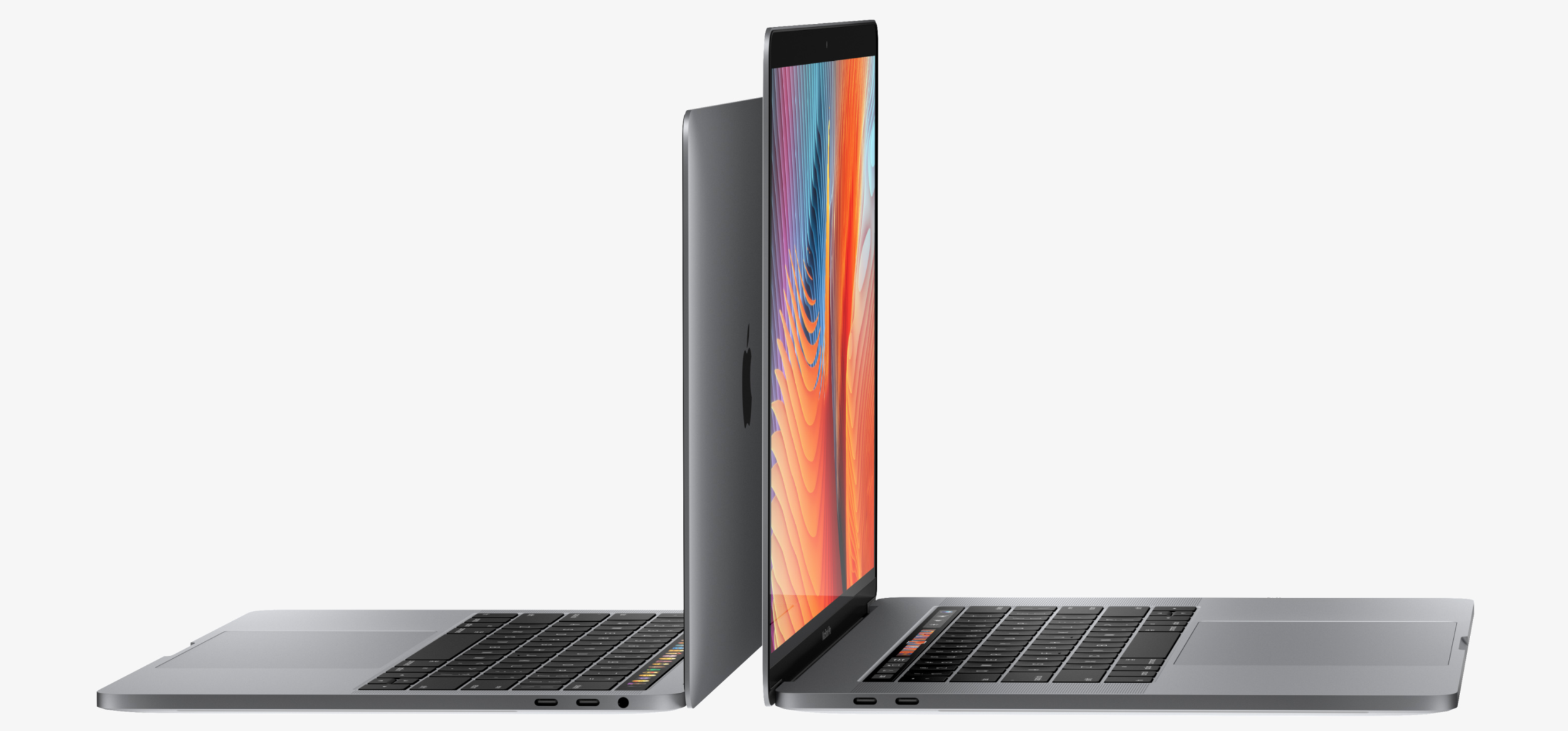 """13"""" and 15' MacBook Pro in Space Gray"""