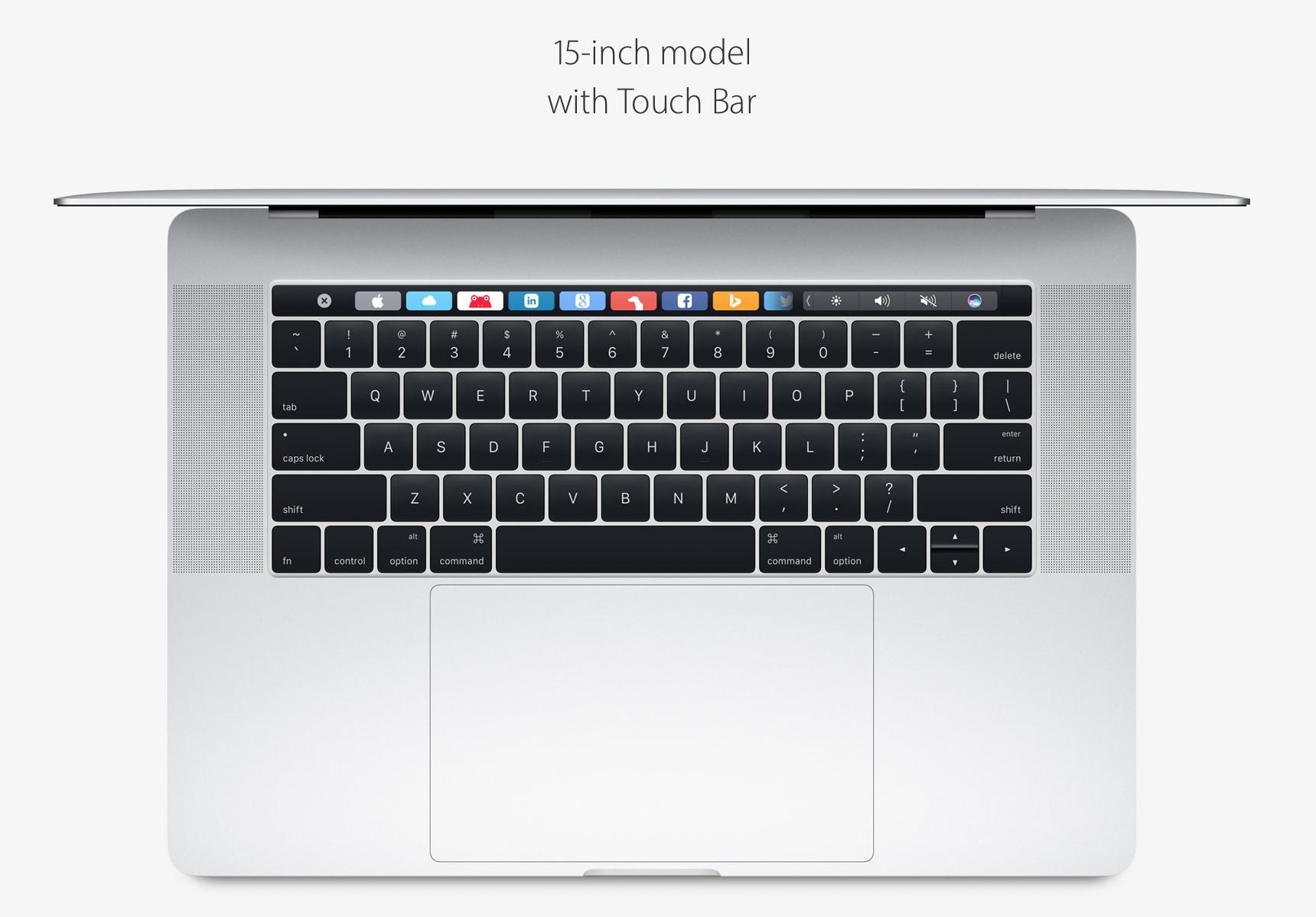 "15"" MacBook Pro in Silver"