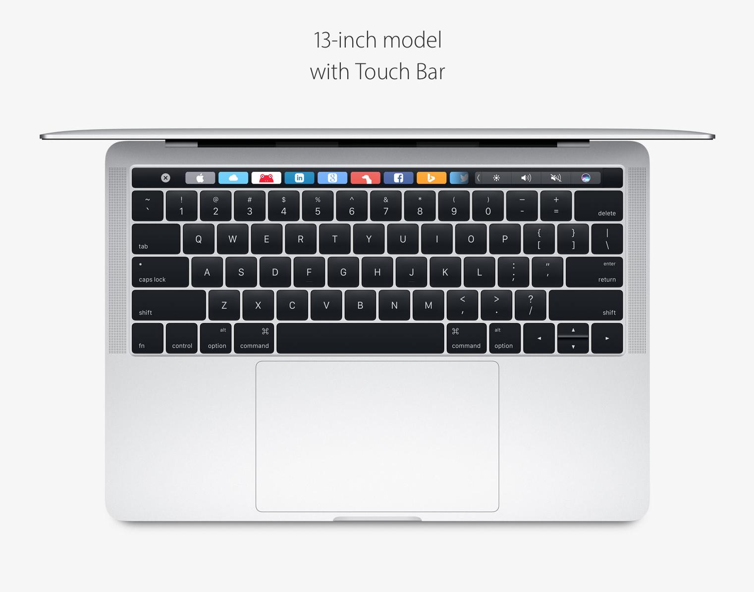 "13"" MacBook Pro in Silver"