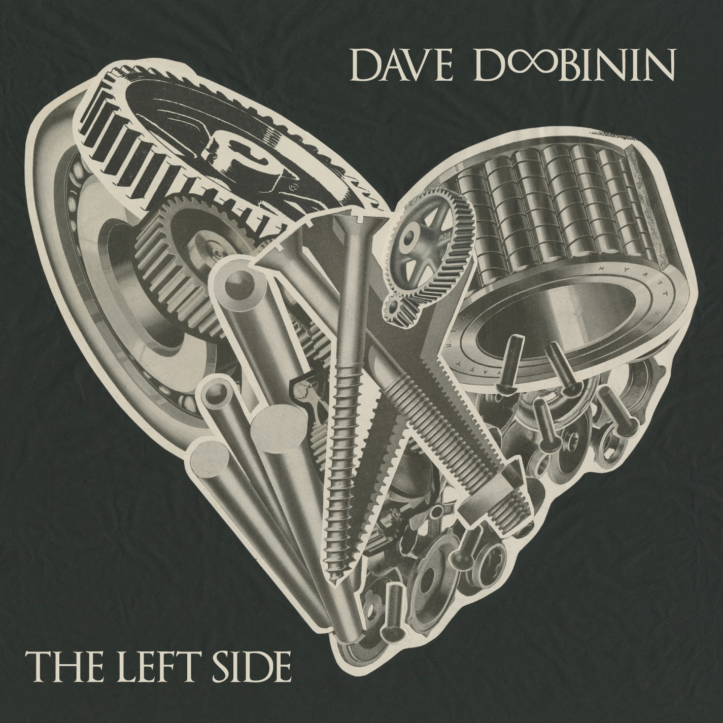 Dave Doobinin, The Left Side, 2015.  Produced, Mixed, Drums, Percussion, Synths whole album.    Purchase here:   https://itunes.apple.com/us/album/johnny/id947547130?i=947547141&ign-mpt=uo%3D4