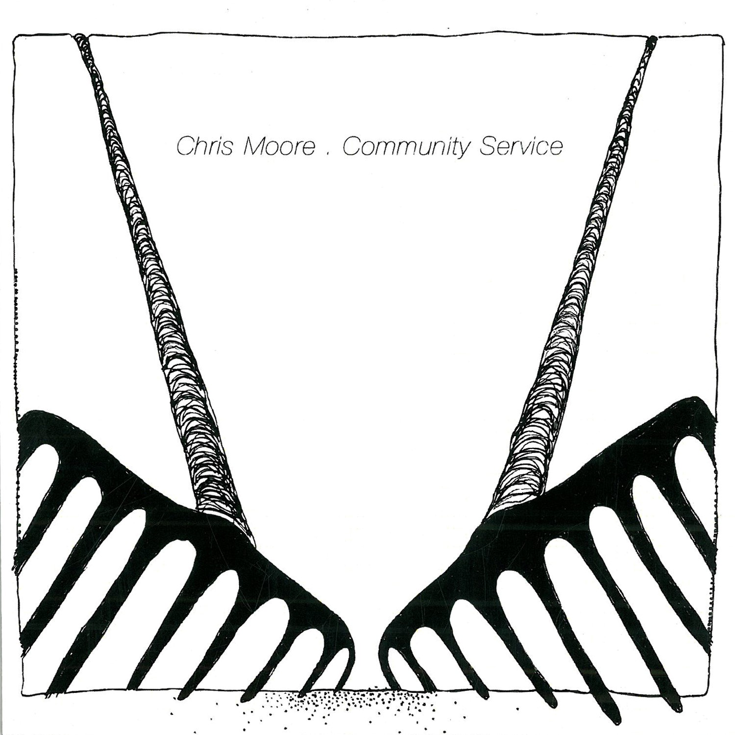 Chris Moore, Community Service, Drawing Room Records, 2015.  Production,   Mixer and Drummer on Whole Album.