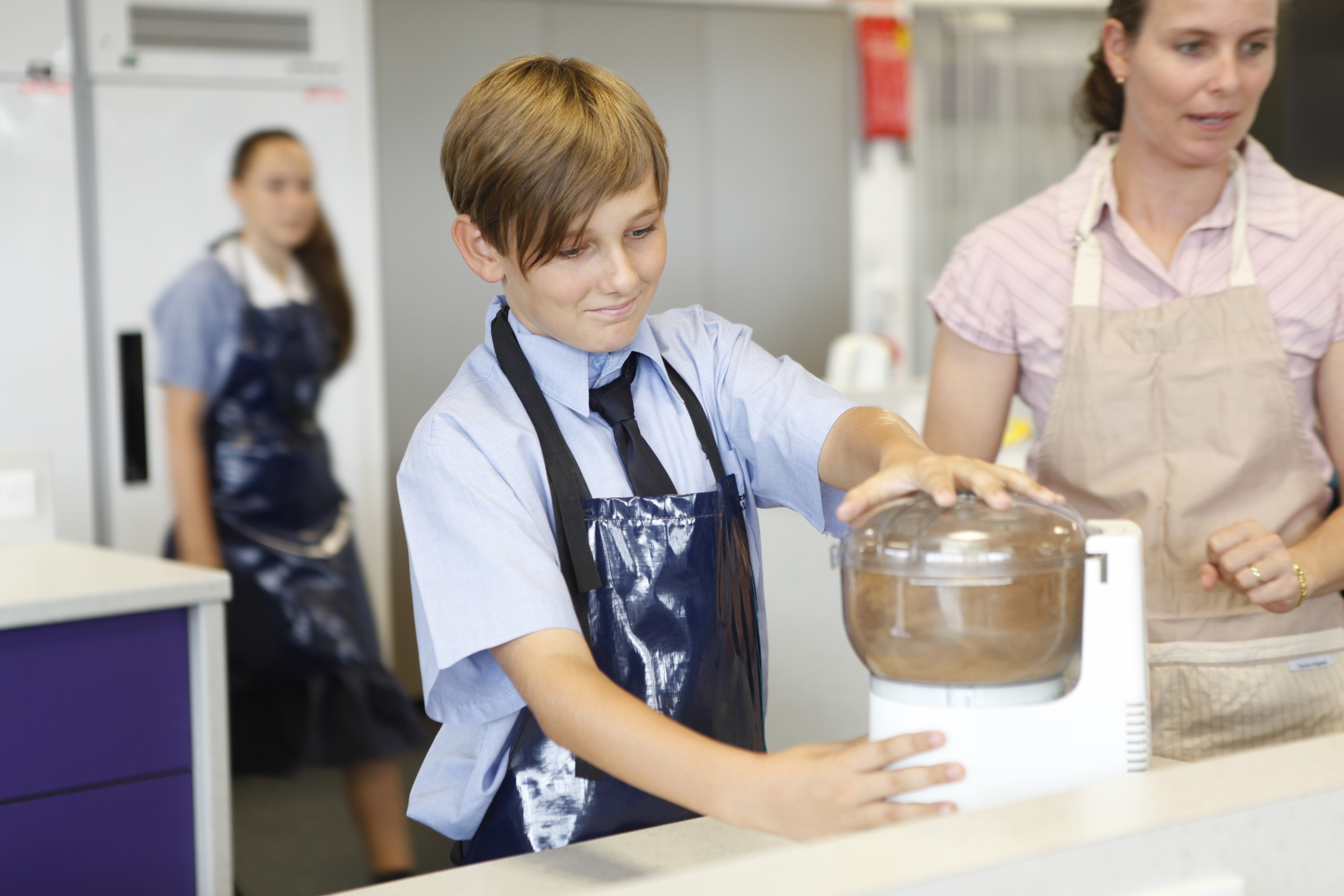 Year 8 Students enjoy a range of practical and theoretical experiences.
