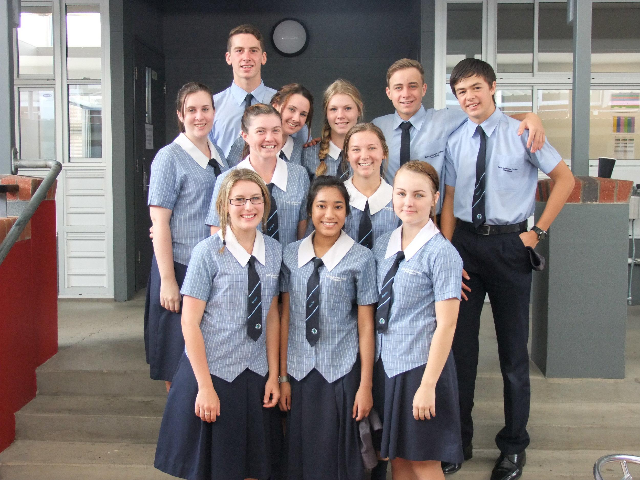 Our Year 12 Leadership Team