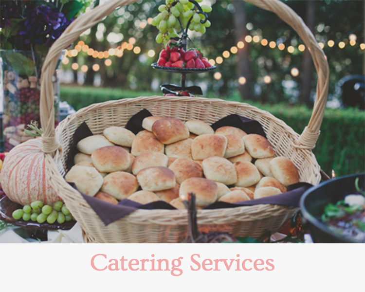 Catering Services - Wedding & Events Redding