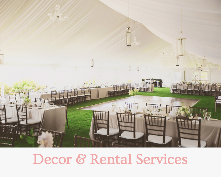 Decor & Rental Services - Wedding & Events Redding