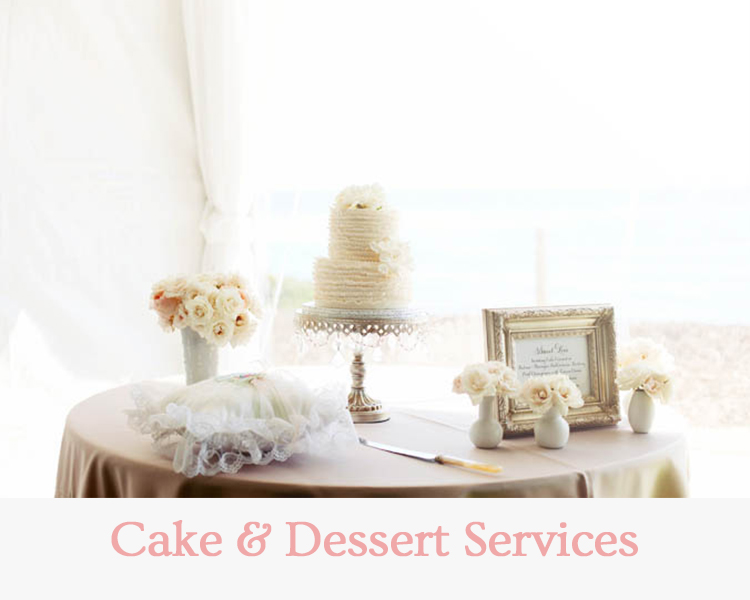 Cake & Dessert Services - Wedding & Events Redding
