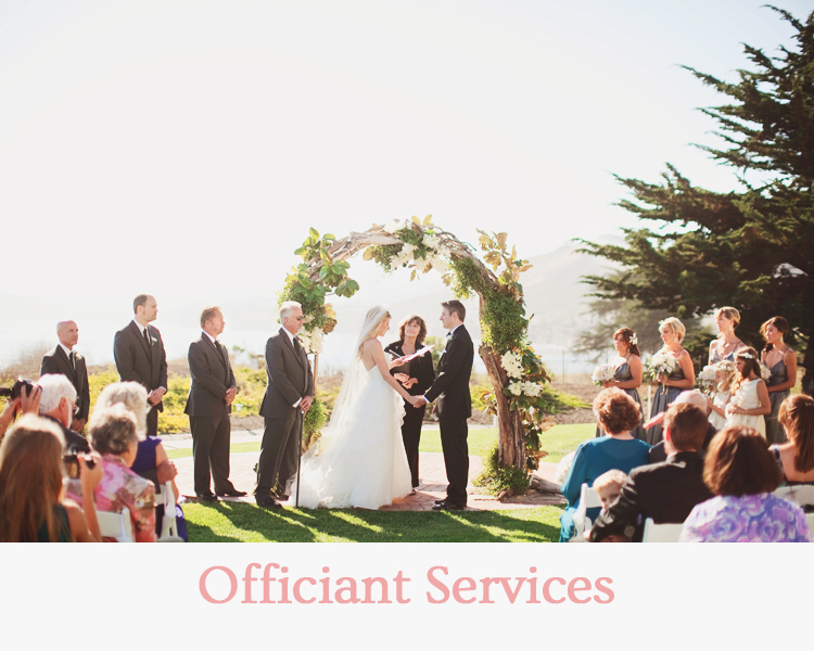 Officiant Services - Wedding & Events Redding