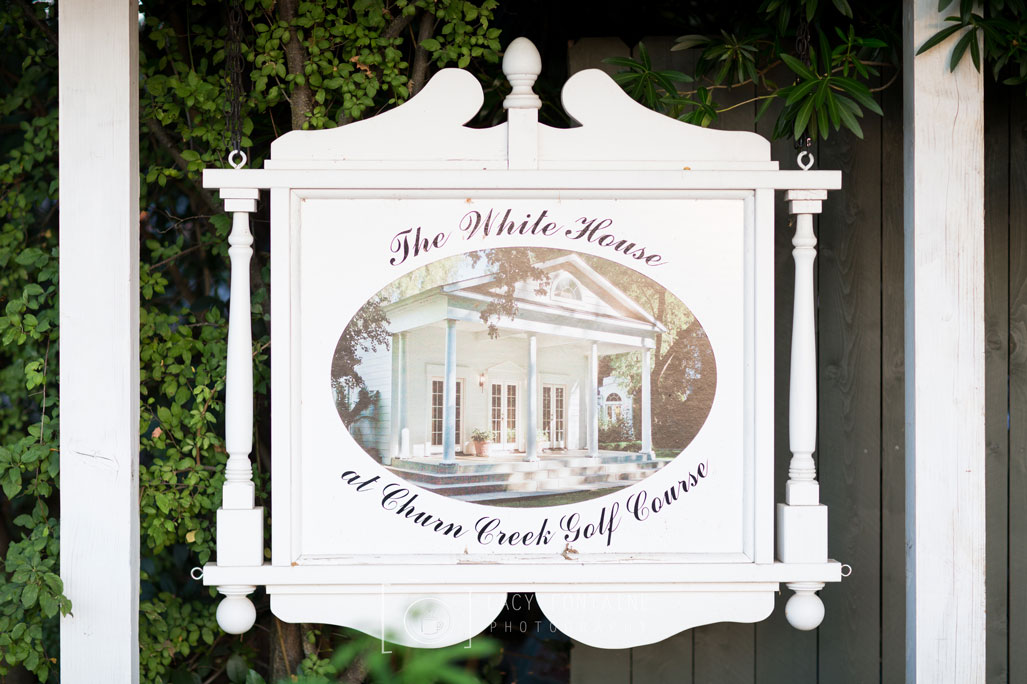 The White House at Churn Creek Golf Cours -  Norcal Weddings